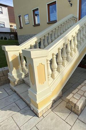 Balustraden für eine Treppe